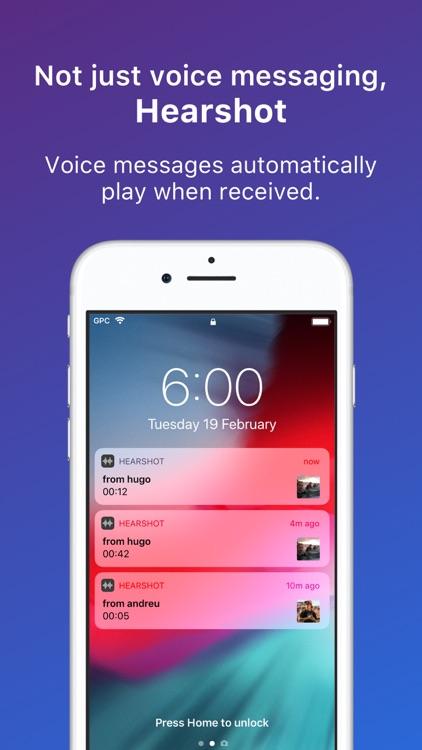 Hearshot Voice Messenger