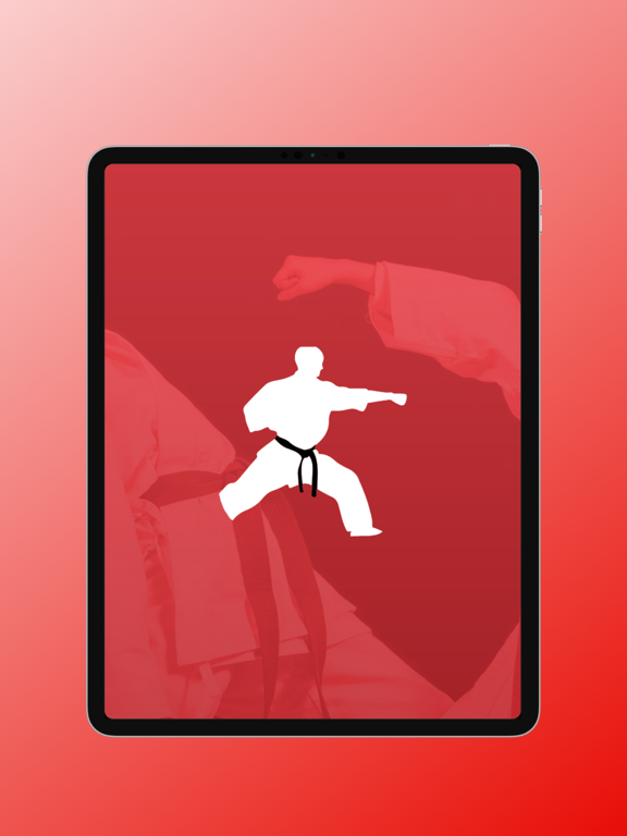 The Martial Arts App screenshot