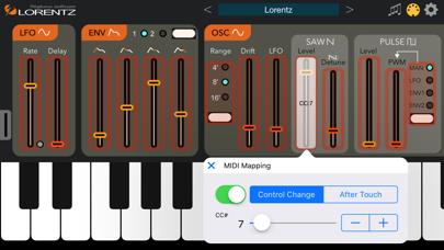 Screenshot #3 pour Lorentz Synthesizer