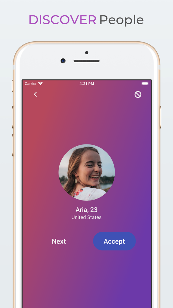 Chatio: Random Live Video Chat App for iPhone - Free