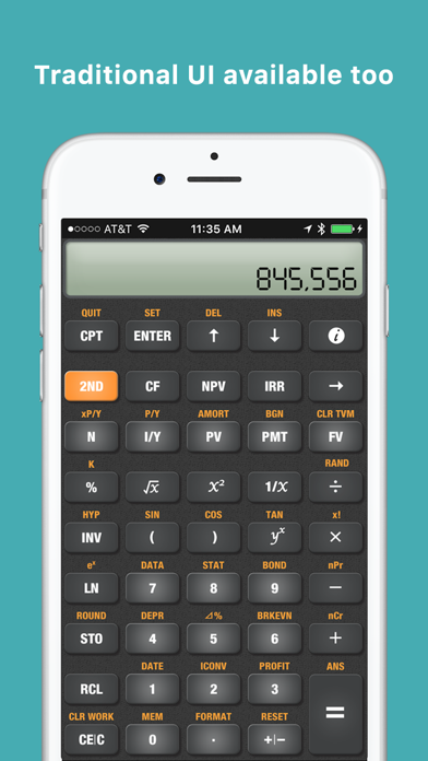 BA Financial Calculator Pro screenshot two