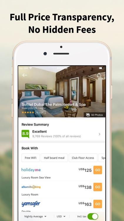 Wego Flights & Hotels Booking screenshot-4
