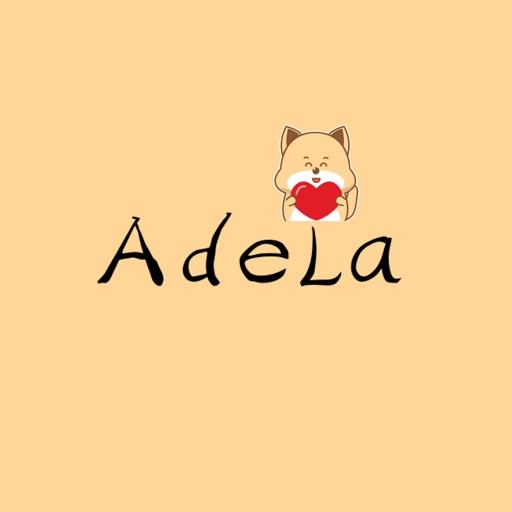 Lovely Adela-For Dog Stickers