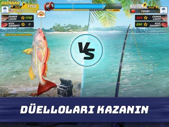 Fishing Clash: Balik Oyunu ipad ekran görüntüleri