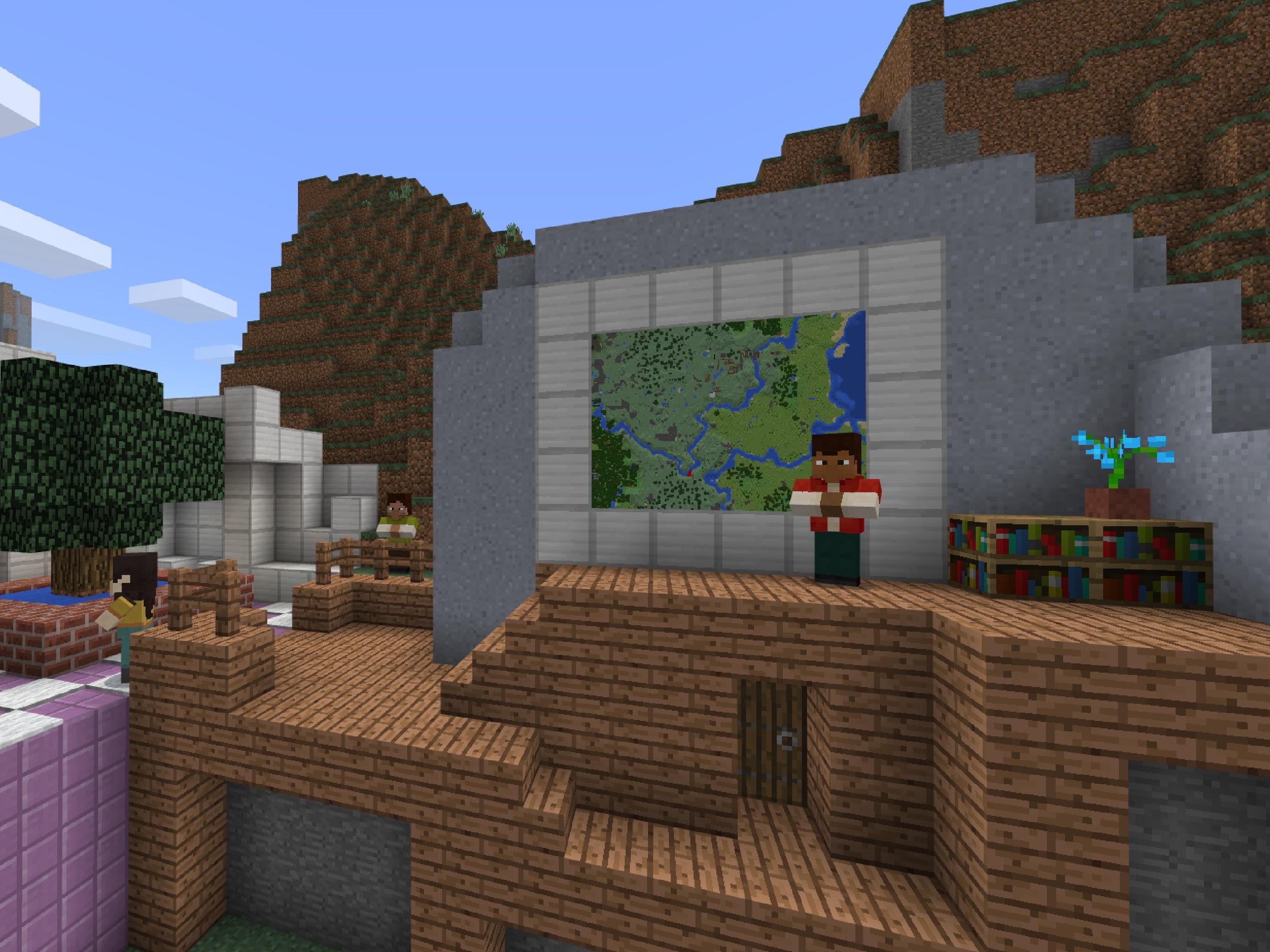 Screenshot do app Minecraft: Education Edition