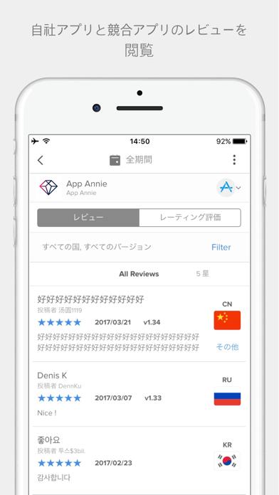 App Annie - モバイルパフォーマンスのスクリーンショット3