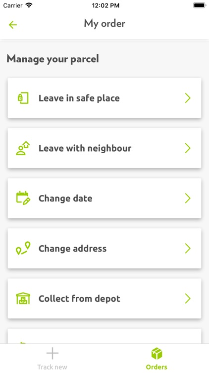 Yodel parcel manager screenshot-5