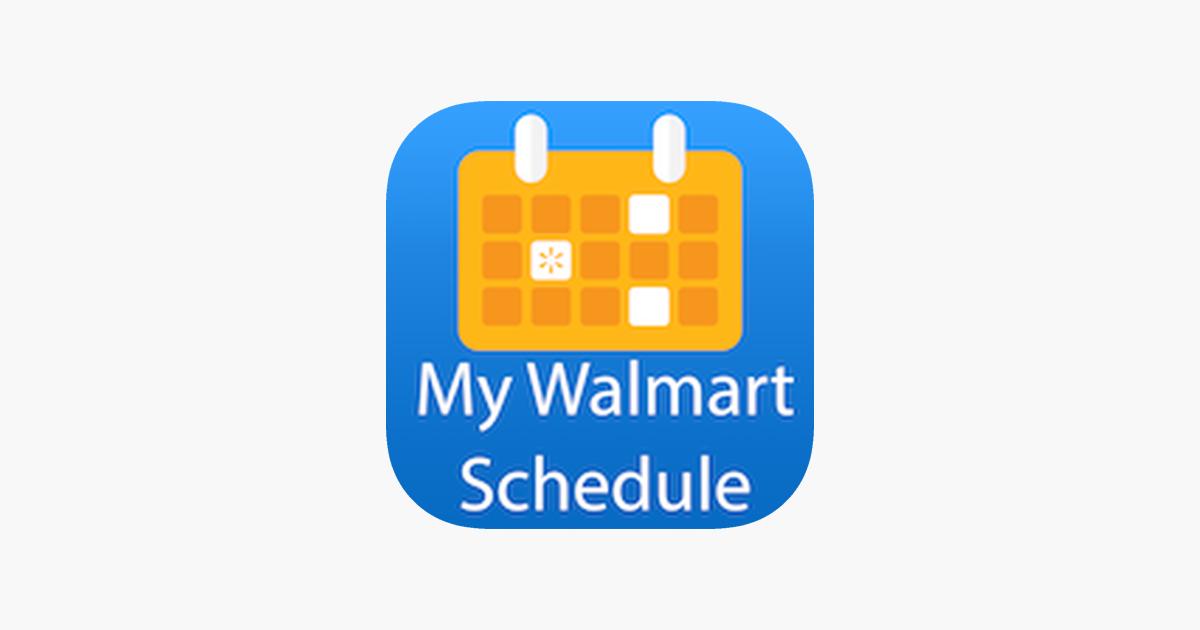 My Walmart Schedule on the App Store