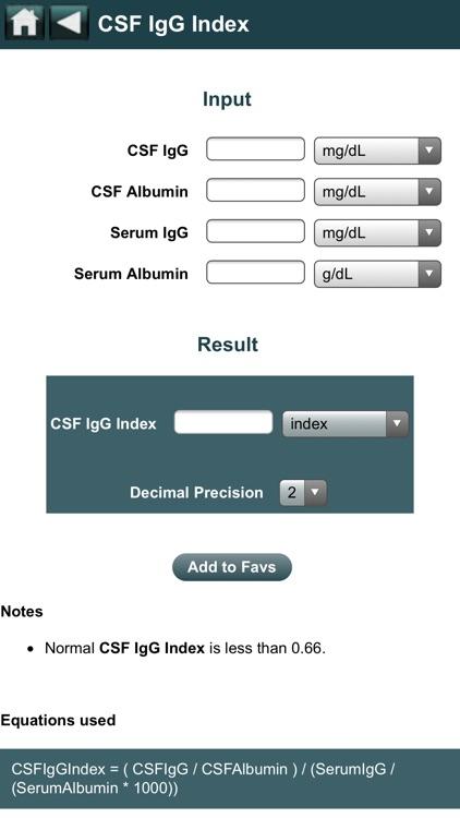 EBMcalc Neurology screenshot-3