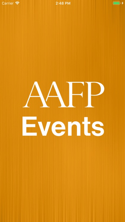 AAFP Events screenshot-0