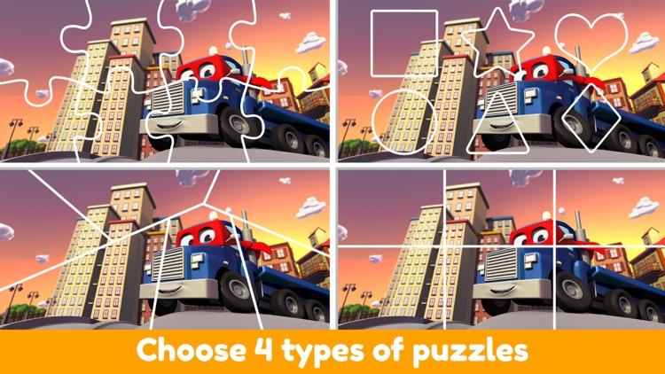 Car City - Preschool Puzzles screenshot-4