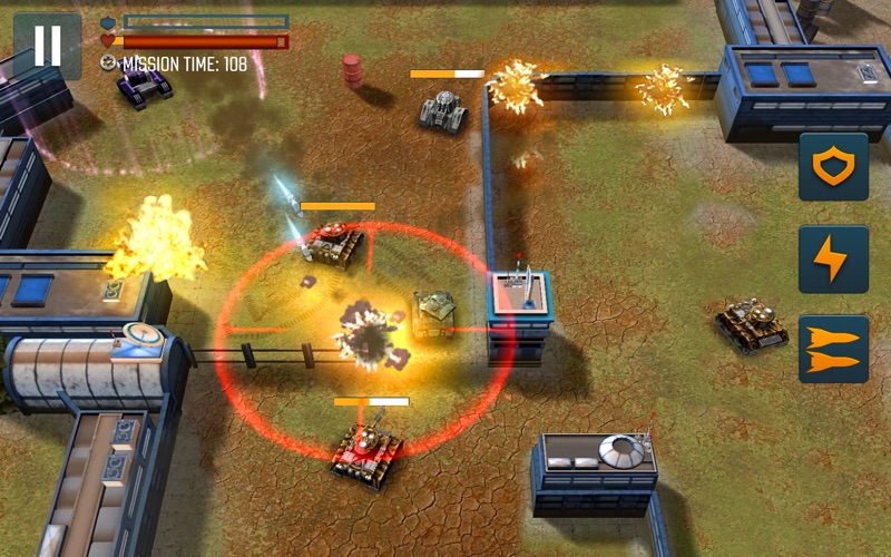 Tank Battle Heroes: PvP Brawls screenshot 6