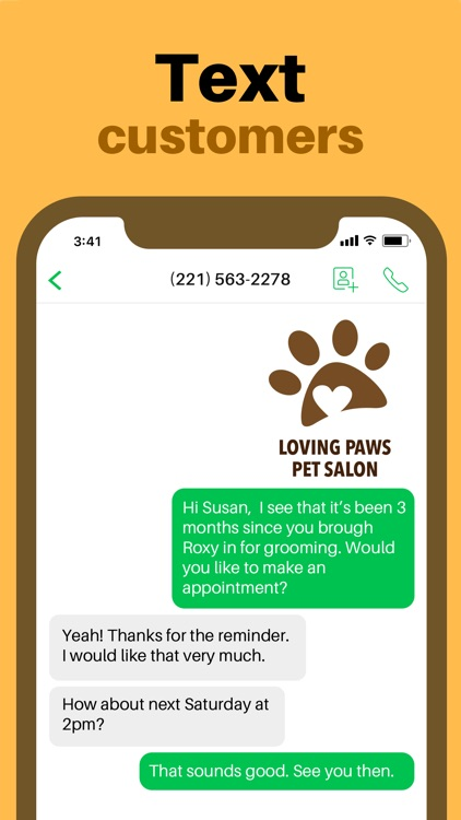 Sideline Business Phone Number screenshot-5