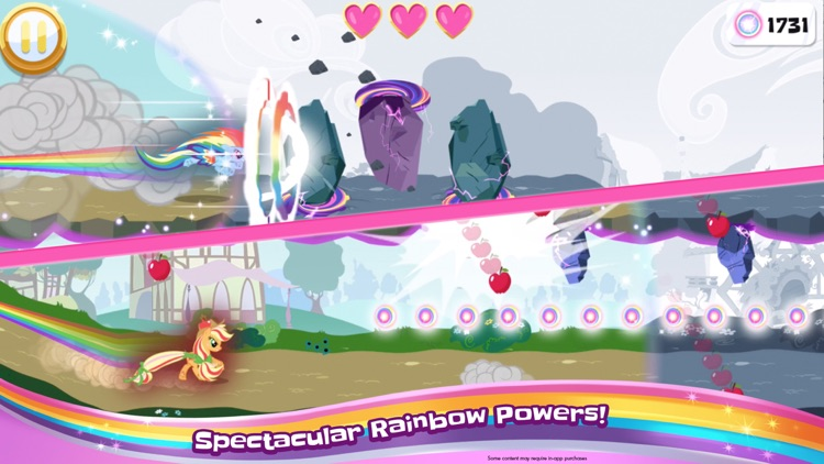 My Little Pony Rainbow Runners screenshot-3