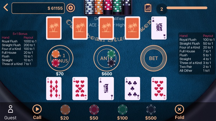 Caribbean Stud Poker Casino screenshot-5