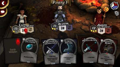 Traitors Empire Card RPG screenshot #2