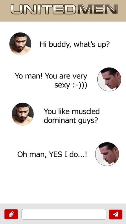 United Men Gay Chat screenshot-4