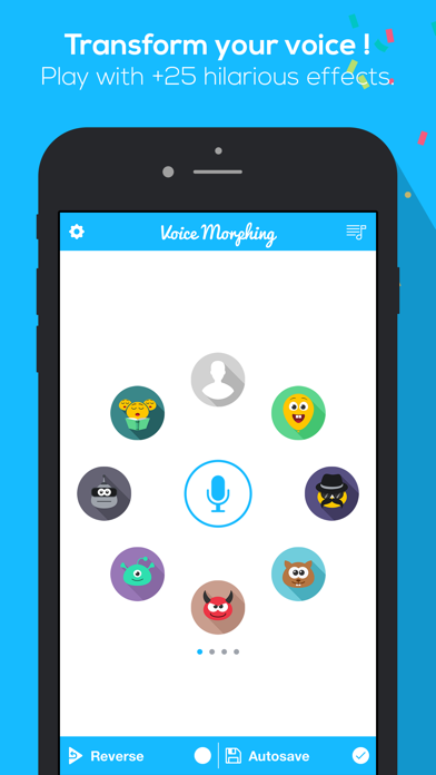 Top 10 Apps like FlipLip Voice Changer for Messenger with