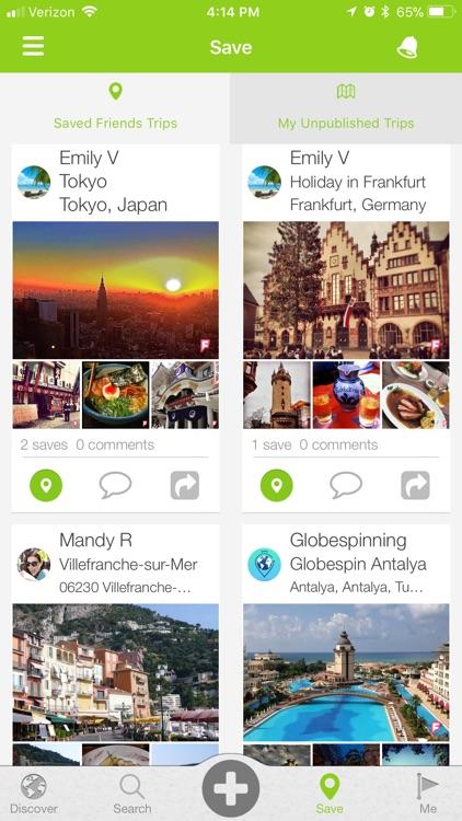 Globespinning: Photo Journals screenshot-3