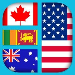 World Nation Flag Logo Quiz