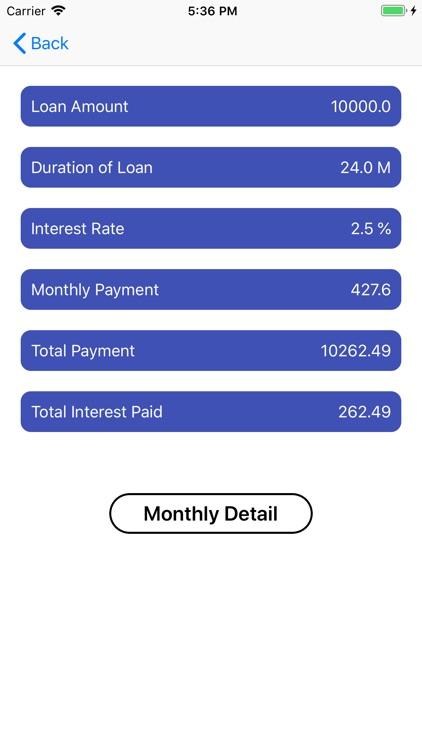 EMI Loan Calc