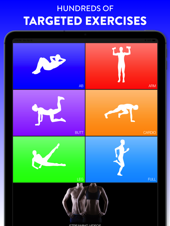 Daily Workouts Fitness Trainer-ipad-1