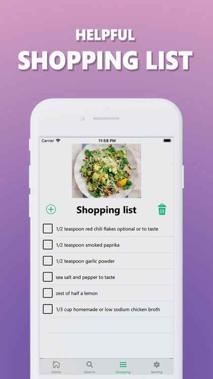 Healthy: Recipes screenshot-3