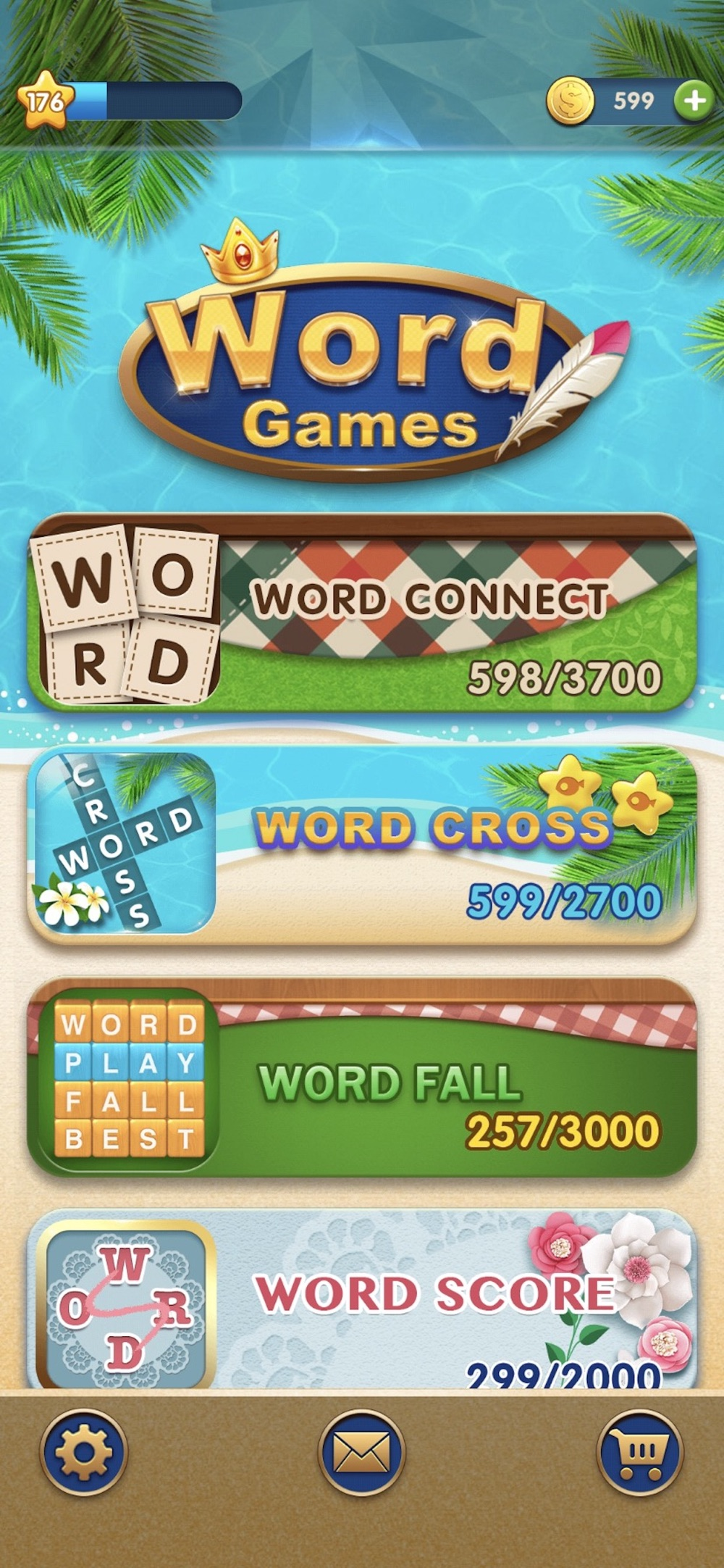 WordGames: Cross,Connect,Score Cheat Codes