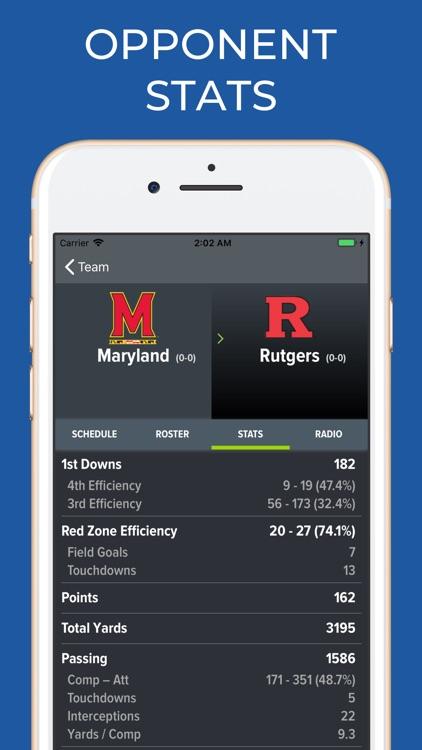 Maryland Football Schedules screenshot-8