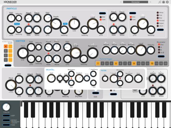 Kronecker - AUv3 Plugin Synthのおすすめ画像4