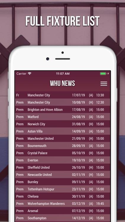 WHU News - Unofficial Fan App