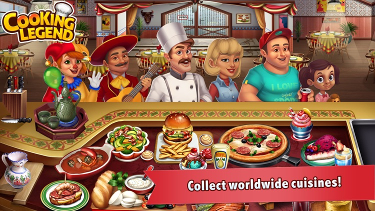 Cooking Legend - Cooking Game screenshot-3