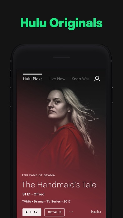 Screenshot for Hulu: Watch TV Shows & Movies in United States App Store