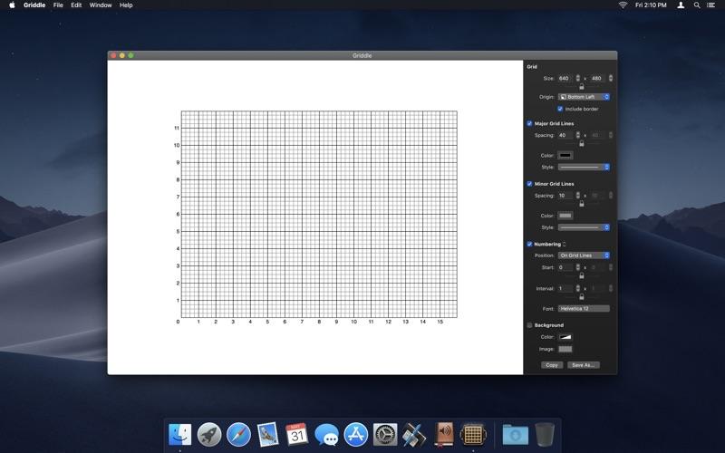 网格编辑 Griddle for Mac