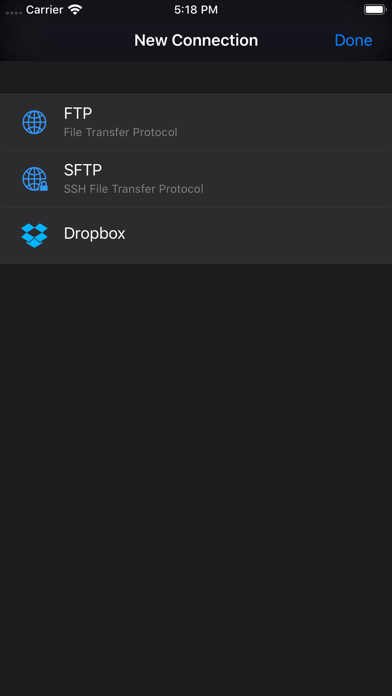 messages.download FTPManager - FTP, SFTP client software