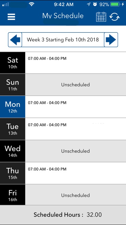 My Walmart Schedule screenshot-0