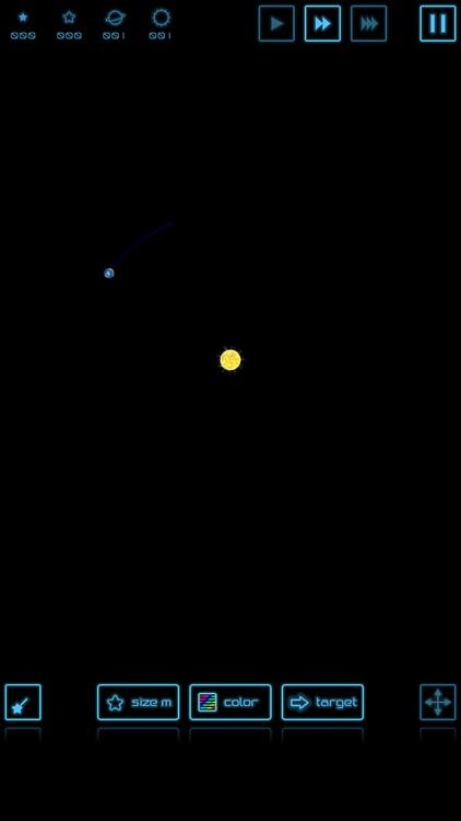 Planet simulation screenshot-4