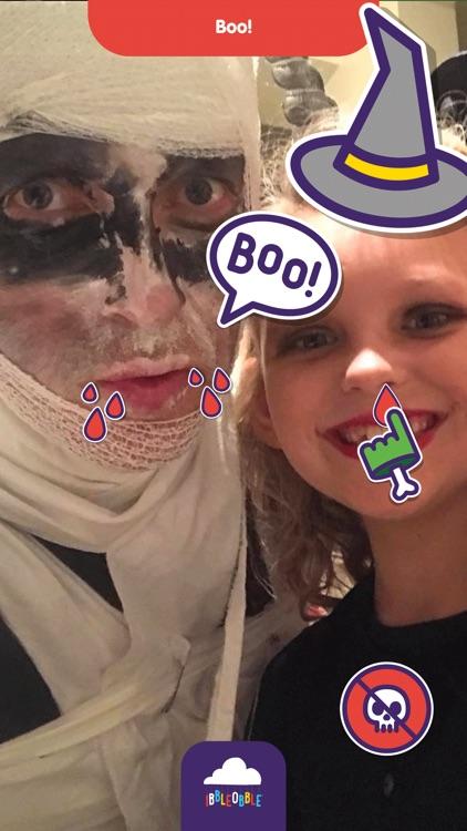 Ibbleobble Halloween Stickers screenshot-5