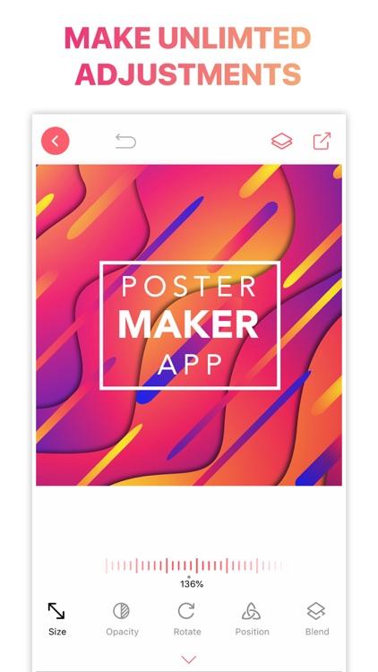 Poster Flyer Maker Icon Design screenshot-8