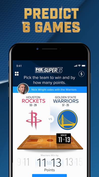 FOX Sports Super 6 screenshot 3