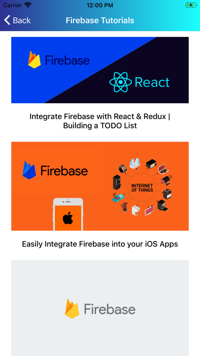 Learn Firebase [PRO] screenshot 6