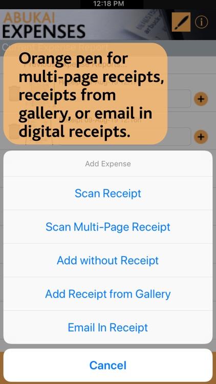 ABUKAI Expense Reports Receipt screenshot-3