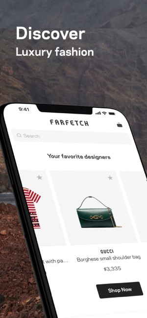 5bbe0810 Farfetch: New Fashion Shopping on the App Store