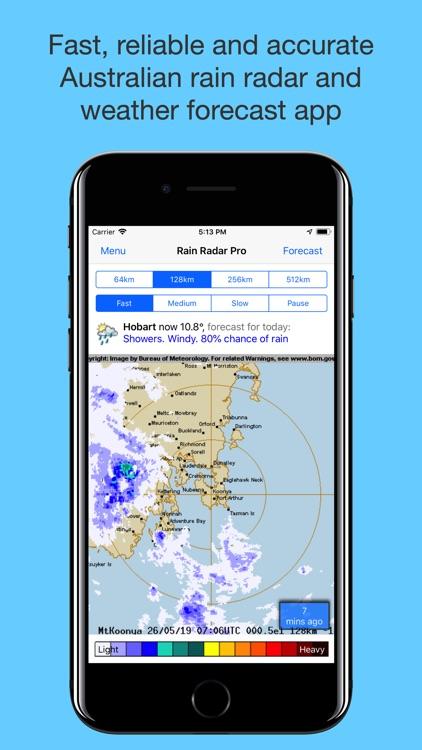 Rain Radar Pro - Aus Weather