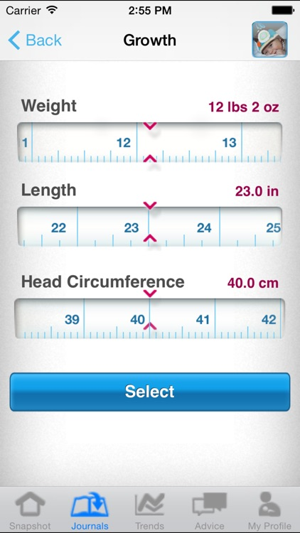 Similac Baby Journal screenshot-4