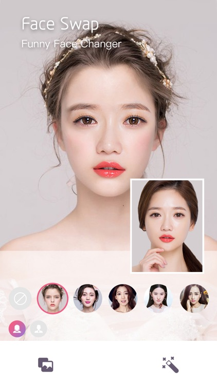 Face Makeup&HairStyles Changer screenshot-7