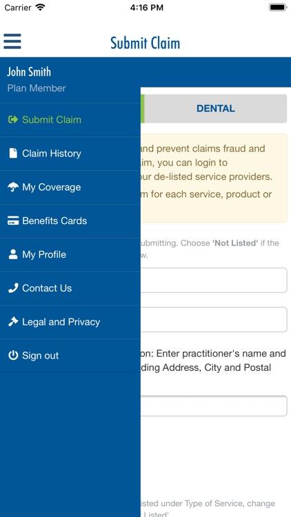 Equitable EZClaim Mobile