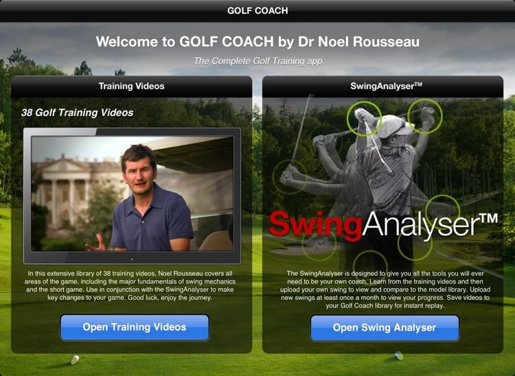 Golf Coach for iPad screenshot-0