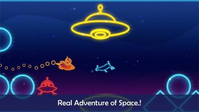 Take Me To Mars -glow stickman screenshot two