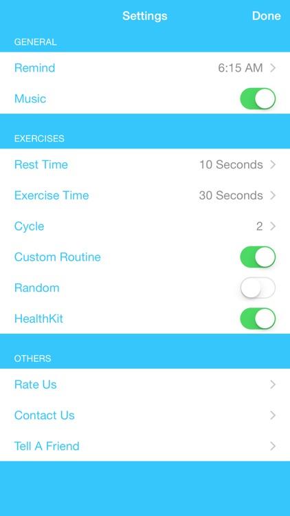 7 Minute Abs Workout Training screenshot-4